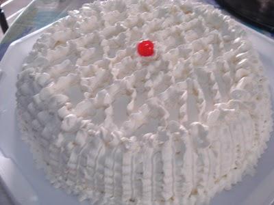 Receita de Torta Trufada de Coco