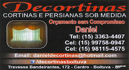 Decortinas CORTINAS E PERSIANAS SOB MEDIDA
