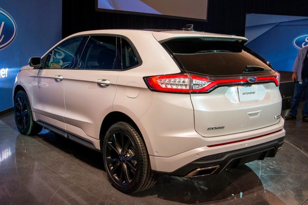 Demikianlah Beberapa Foto Terbaru Dari Ford Edge  Yang Bisa Kami Berikan