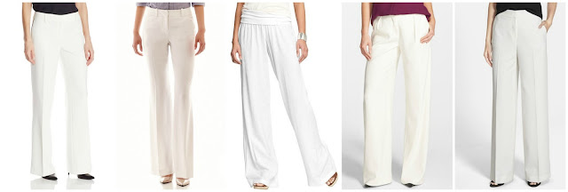 Jones New York Zoe Pant with Leather $26.01 (regular $99.00)  Worthington Modern Fit Pants $27.99 (regular $40.00)  Old Navy Linen Blend Pull-On Pants $30.00 (regular $32.94)  Halogen Pleat Front Wide Leg Pants $43.98 (regular $88.00)  Chelsea28 Flat Front Wide Leg Pants $52.80 (regular $88.00)