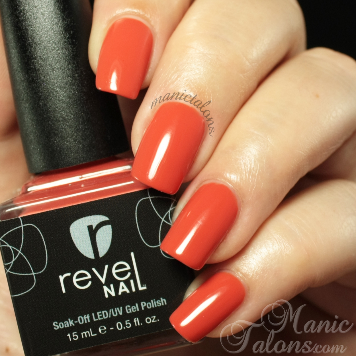 Revel Nail Gel Polish Mai Tai Swatch