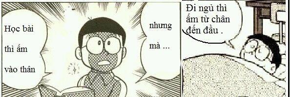 Thư giãn với những câu nói bất hủ của Doremon chế