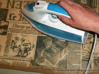 DIY water repellent fabrics 05     wesens-art.blogspot.com