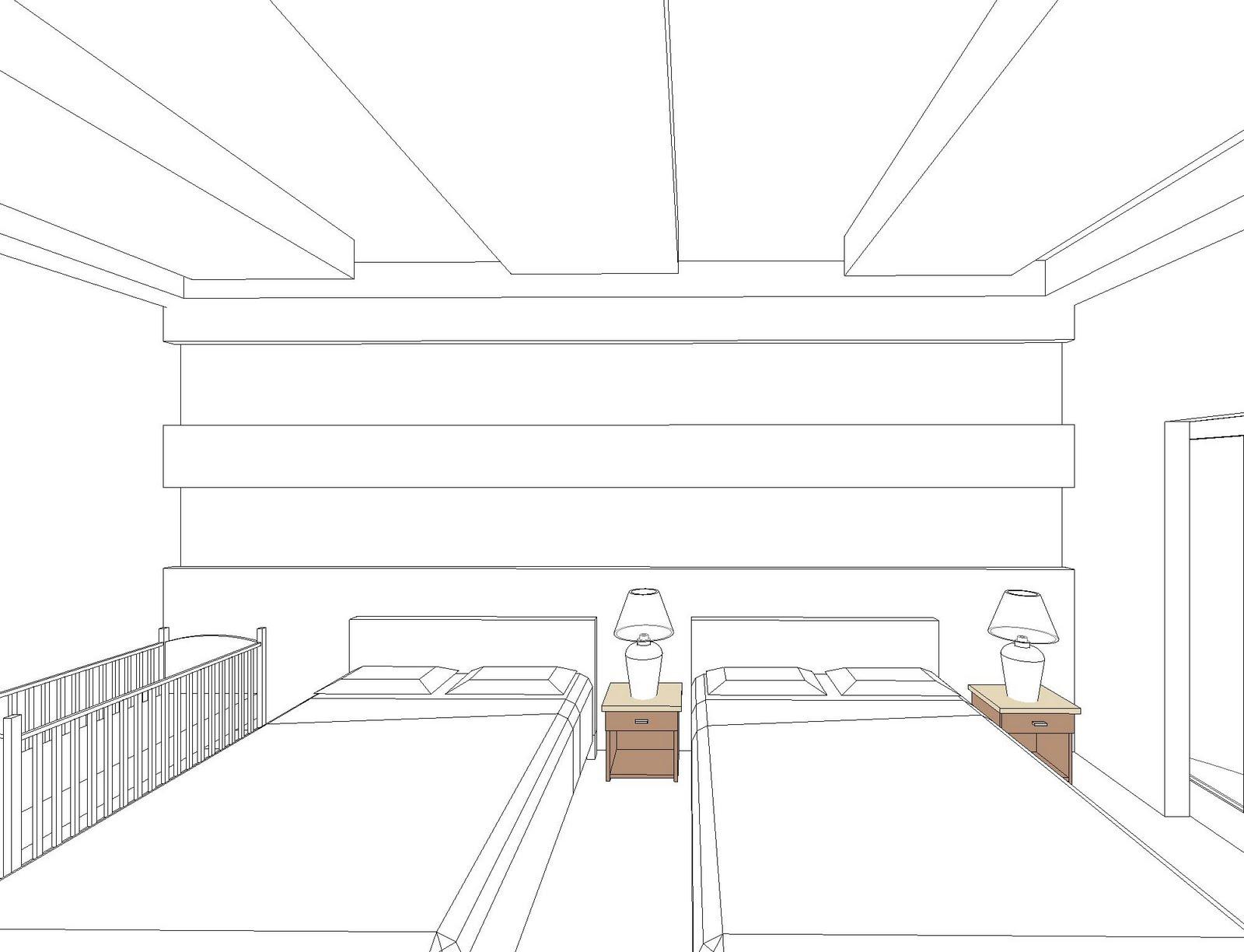 Interiores 3 dise o de interior de una habitacion de for Diseno de habitacion de hotel