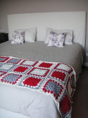 Crochet by agustina dipede pie de cama tejido - Pie de cama ...