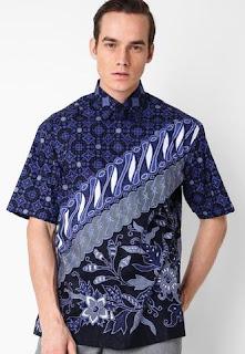 Trend Baju Batik Pria Modifikasi 2016