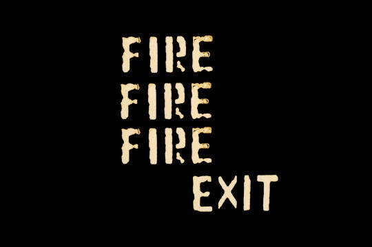 fire fire fire exit, contemporary, photography, Sam Freek