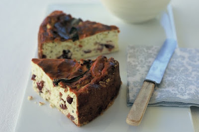 Cranberry ricotta torte Recipe
