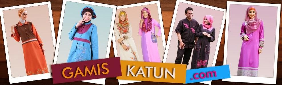 Baju Muslim Gamis Katun Murah Cantik Grosir Terbaru Online