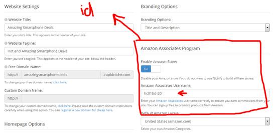 Cara bina kedai online Amazon menerusi Nichify