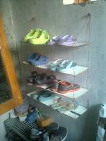 Cara Membuat Rak sepatu Gantung Sedehana dan Mudah Dibuat