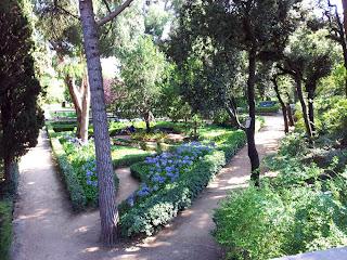 Gardens in Horta Barcelona