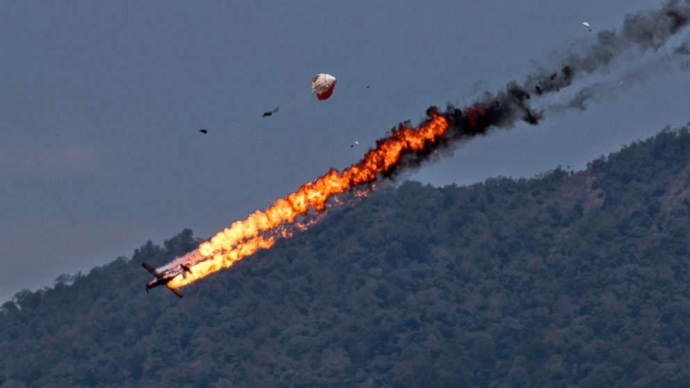 TNI AU Investigasi Penyebab Tabrakan 2 Pesawat Jupiter di Langit Malaysia