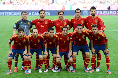 Spain Football Team Euro 2012