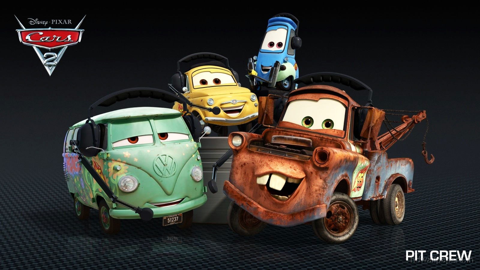 Cars 2 3D HD Wallpapers ~ Cartoon Wallpapers