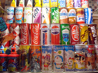 Showa Retro soft drinks Japan