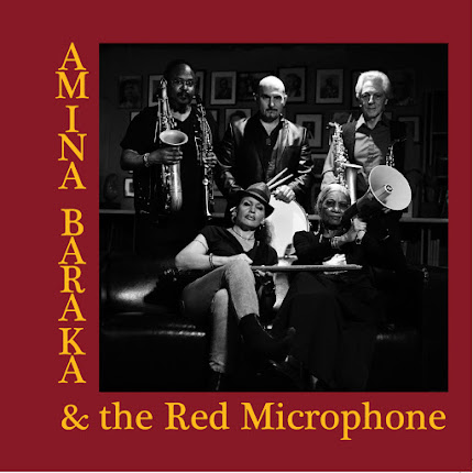 AMINA BARAKA and the RED MICROPHONE