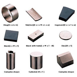 imanes neodimio cilindricos anillos tubos barras