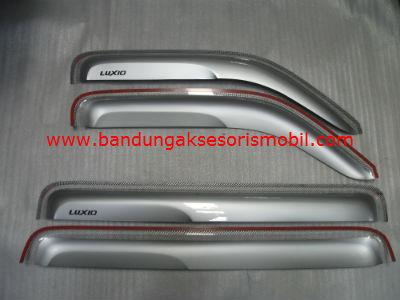 Talang Air Luxio Silver Mugen 3M Depan Belakang