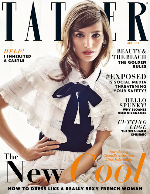 Singer, Actress @ Alma Jodorowsky by Marc Hom for Tatler UK, August 2015