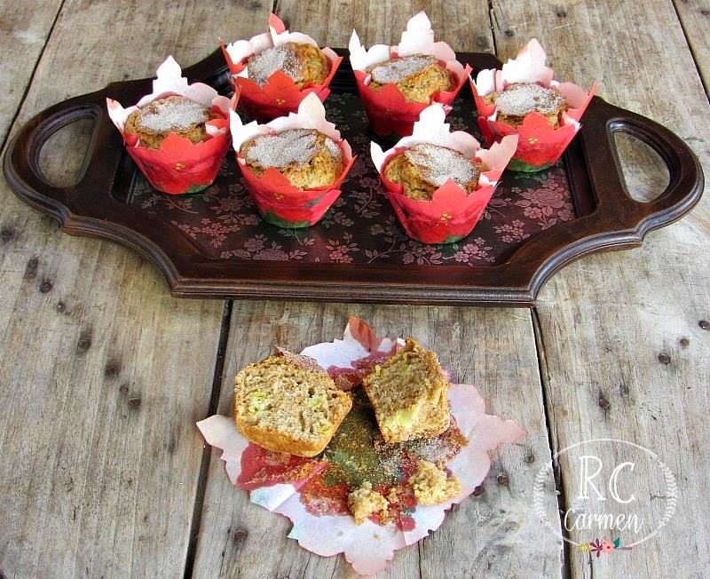 Muffins De Ruibarbo Y Canela