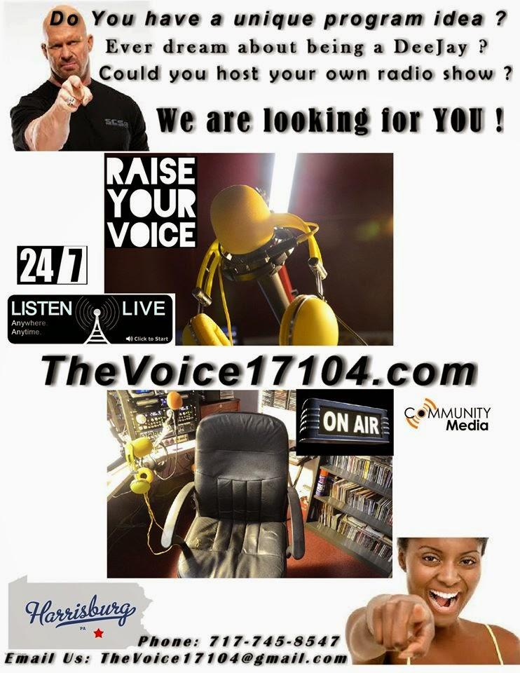 RAISE YOUR VOICE!!