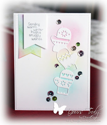 Diana Nguyen, poppystamps, Sweet 'n Sassy Stamps, winter