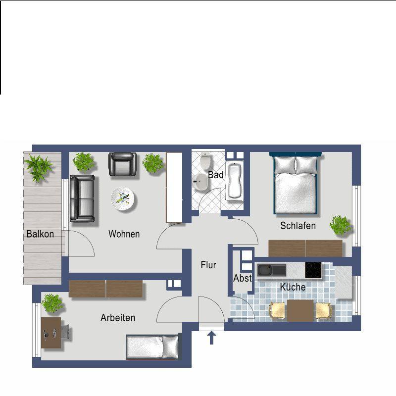 Wohnung in Frankfurt zu vermieten