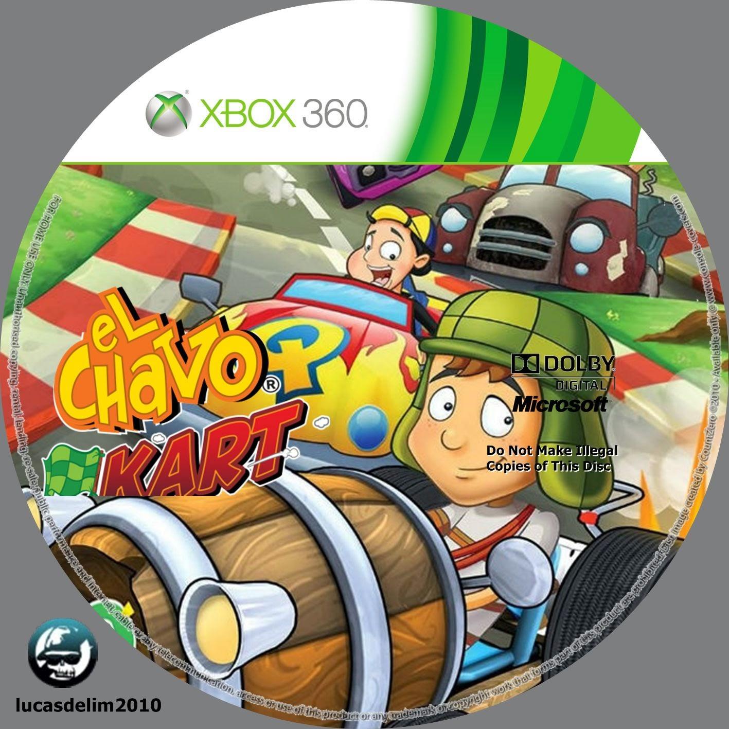 Label El Chavo Kart Xbox 360