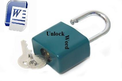 cara membuka word yang terkunci