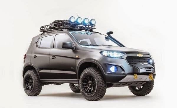 New Chevrolet Niva SUV Concept