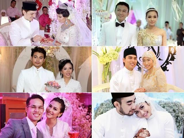 Gerbang Perkahwinan Selebriti Di Tahun 2013
