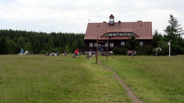 Groß-Iser Aufstieg zum Hinterberg (Grüne Kuppe)