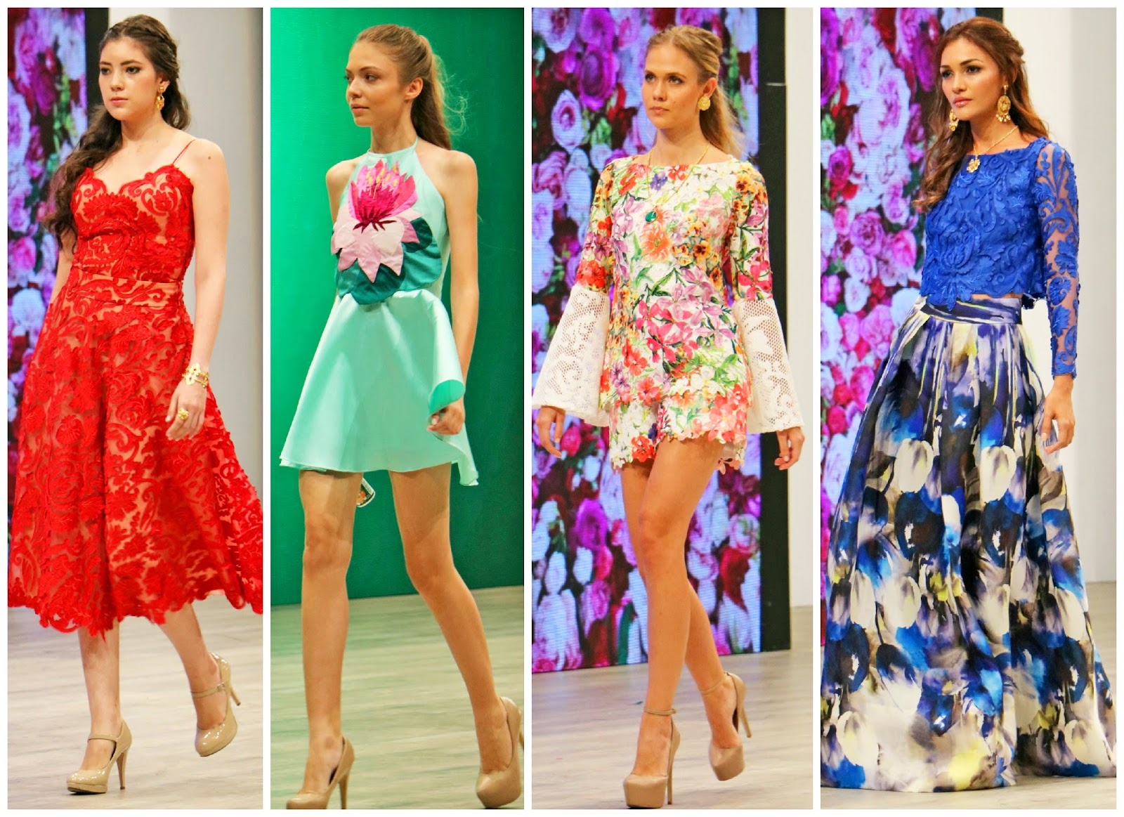 Step into the prettiest floral prints for this Spring and Summer
