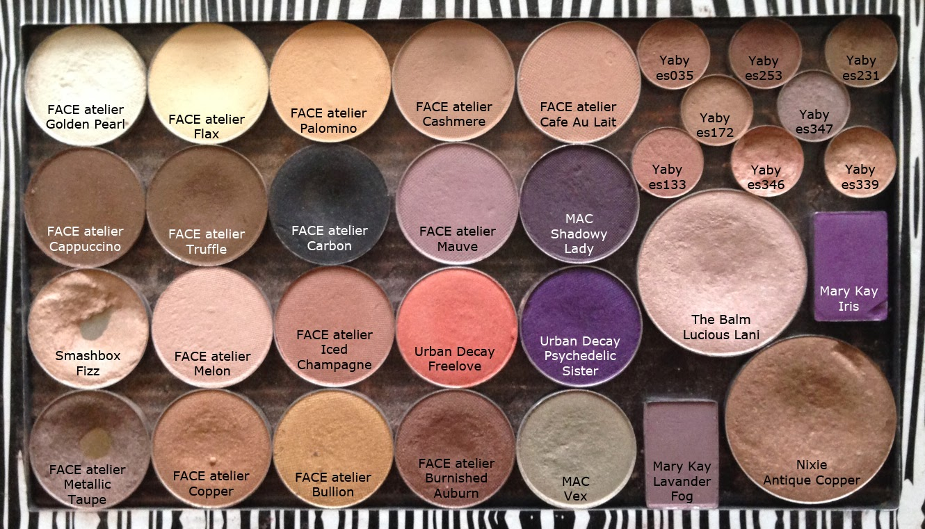 This Here Is My Main Eyeshadow Palette It S What I Use For Everything From Catalog To Bridal Can You Tell That Love Face Atelier