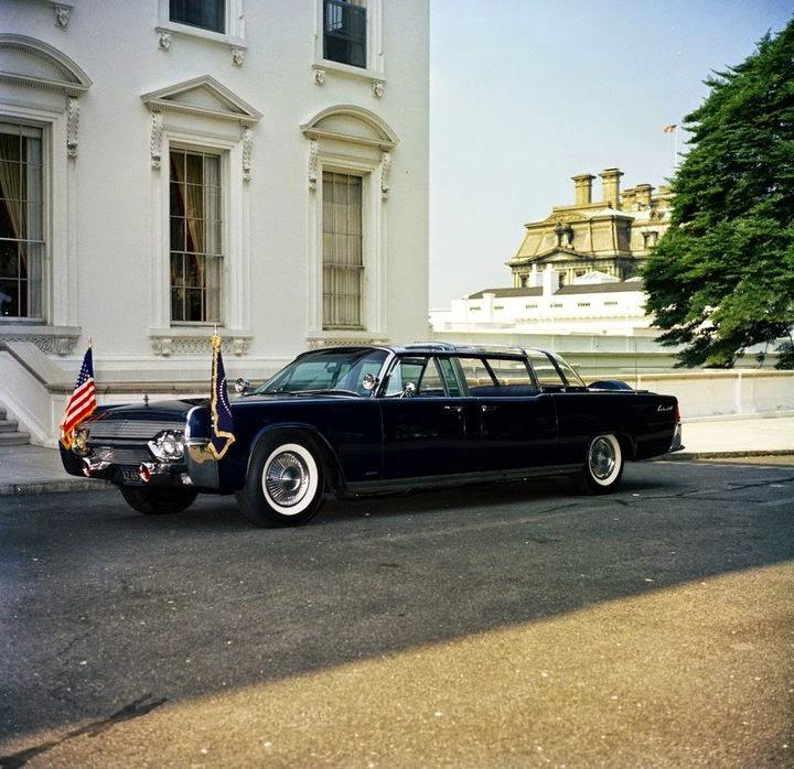 JFK bubbletop Washington, D.C. 6/15/61
