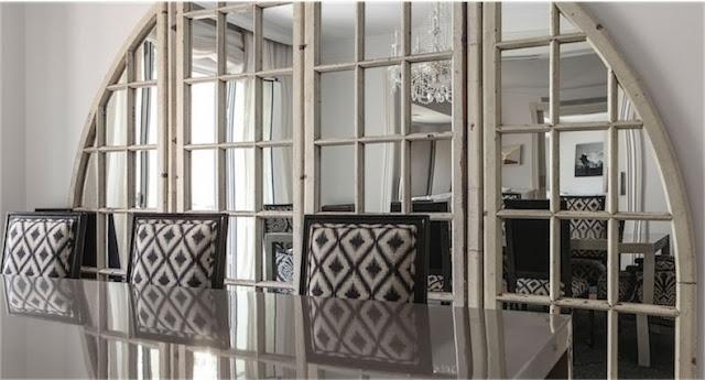 puertas con espejo