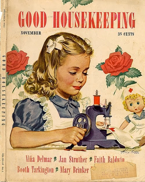 A vintage cottage home 1940 39 s good housekeeping magazine for Good house magazine