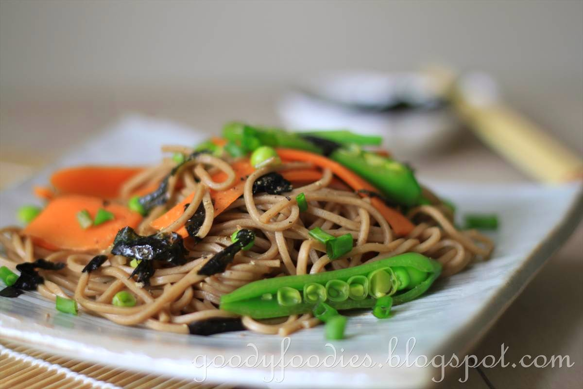 Healthy And Appetizing :) Soba Noodle Salad Recipe