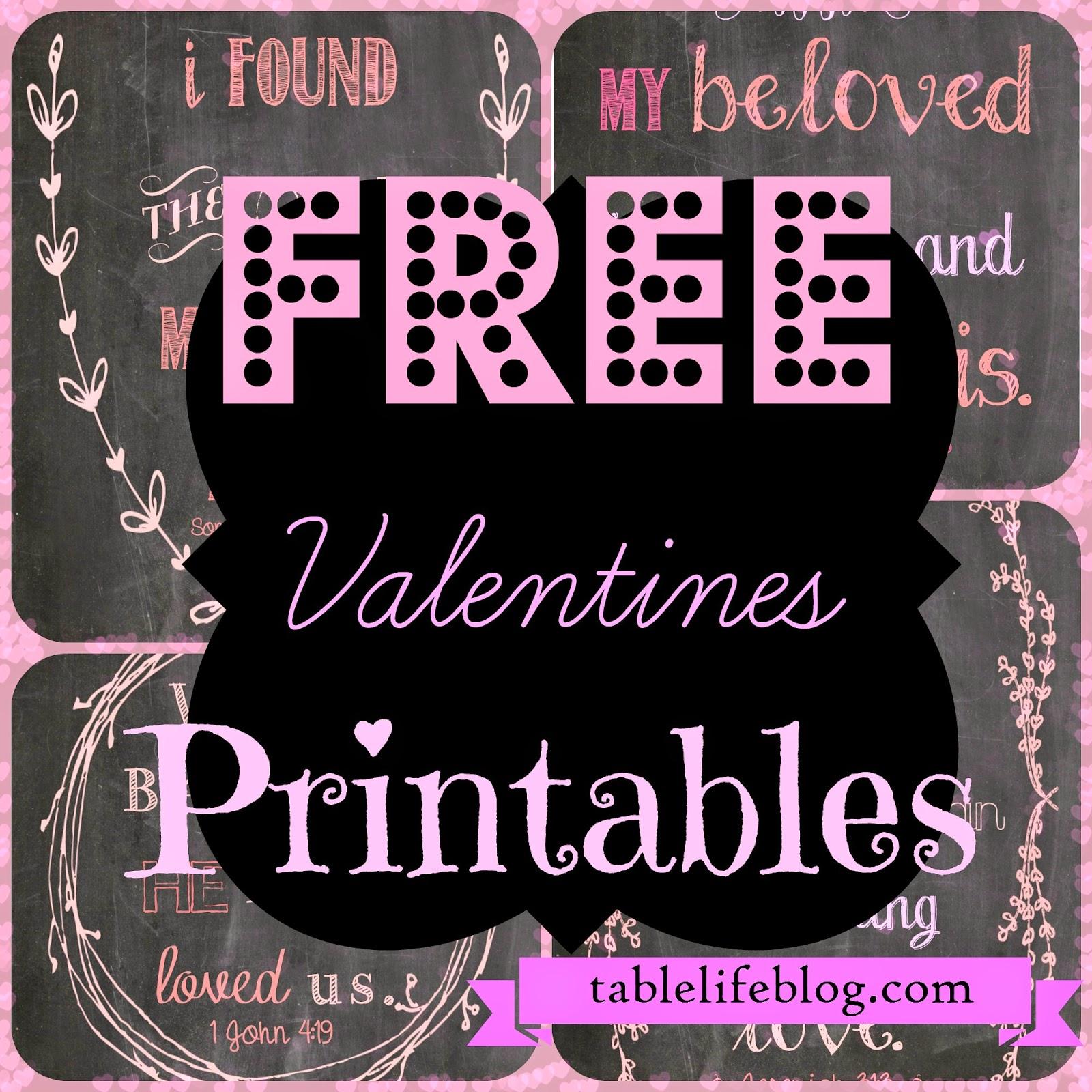 free valentines scripture prints chalkboard diy printables