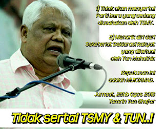 PRIBUMI Belum DiDaftar Rafidah Dan Tamrin Sudah Tolak