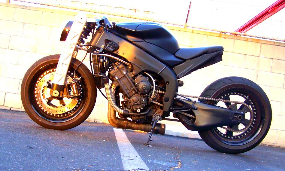 Yamaha r1 streetfighter conversion