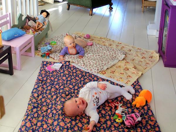 Vauvojen kuulumisia , 6kk