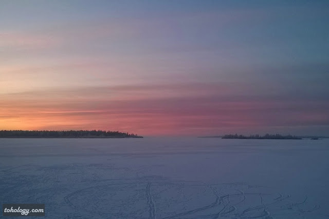 View to the Gulf of Bothnia in Kemi