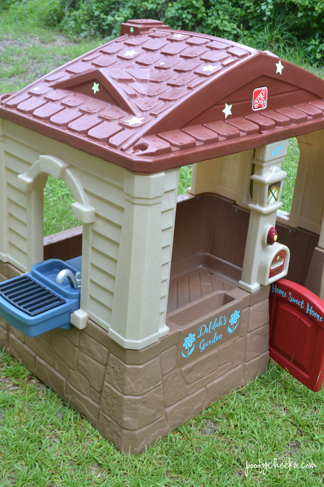Home Sweet Home Personalized Plastic Playhouse