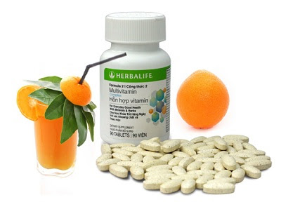 Herbalife F2 Multi Vitamin, khoáng chất