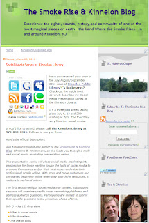 Save 7/13/11 for Social Media at Kinnelon Library