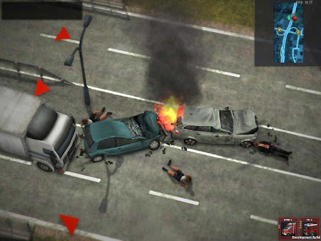 Screen Shot Of Rescue Everyday Heroes (2013) Full PC Game Free Download At Downloadingzoo.Com