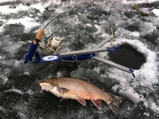 Idaho pursuit ice fishing pole giveaway for Ice fishing idaho