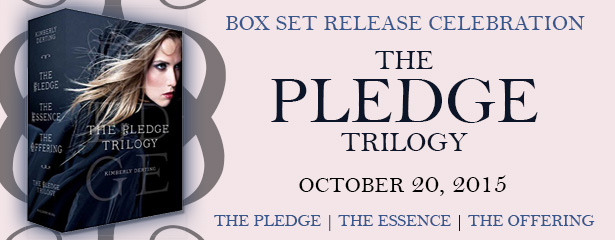 Box Set Release Celebration: The Pledge Trilogy by Kimberly Derting